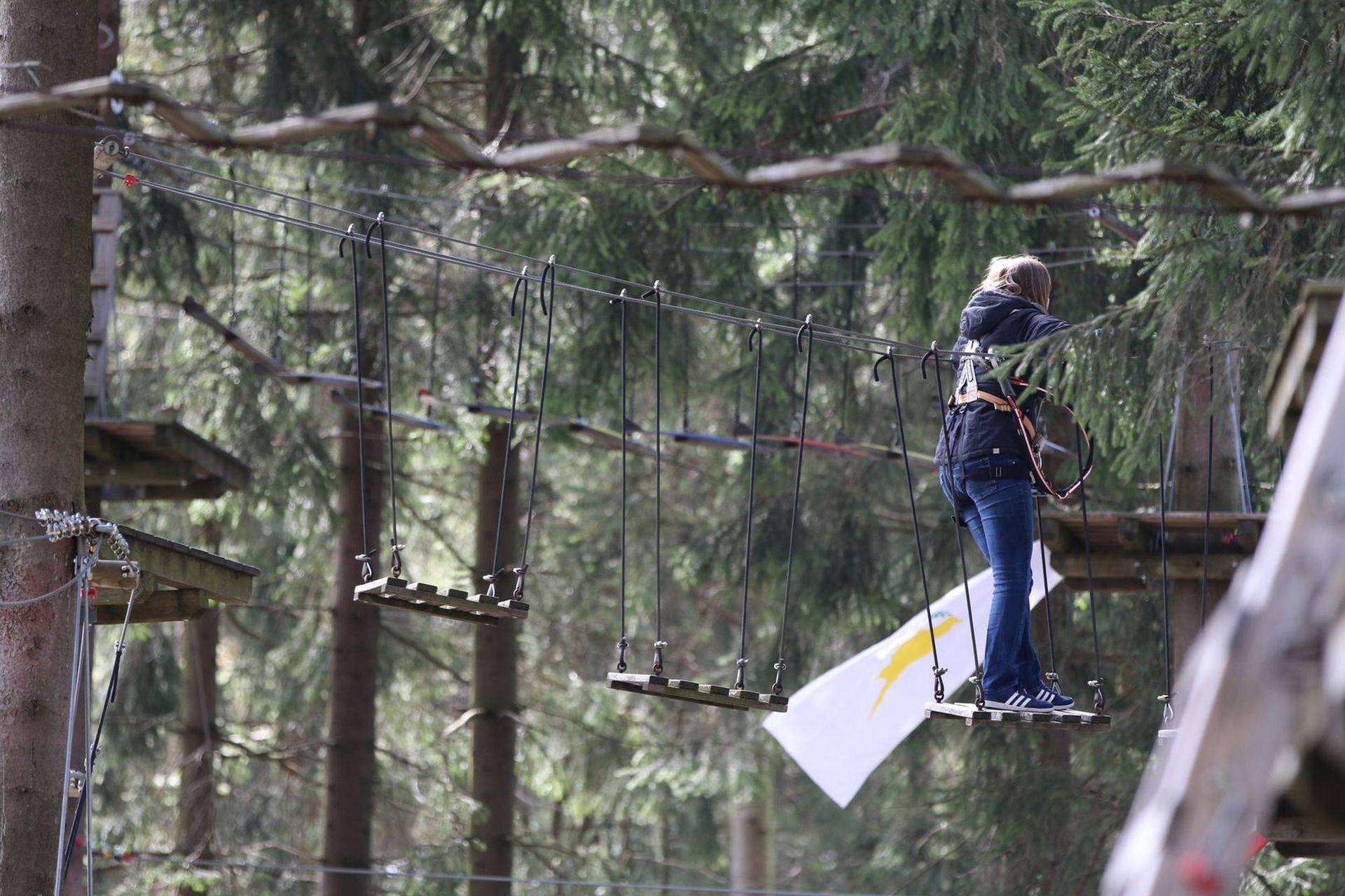 Freizeittipp Familie Kletterwald Winterberg am Erlebnisberg Kappe (2)