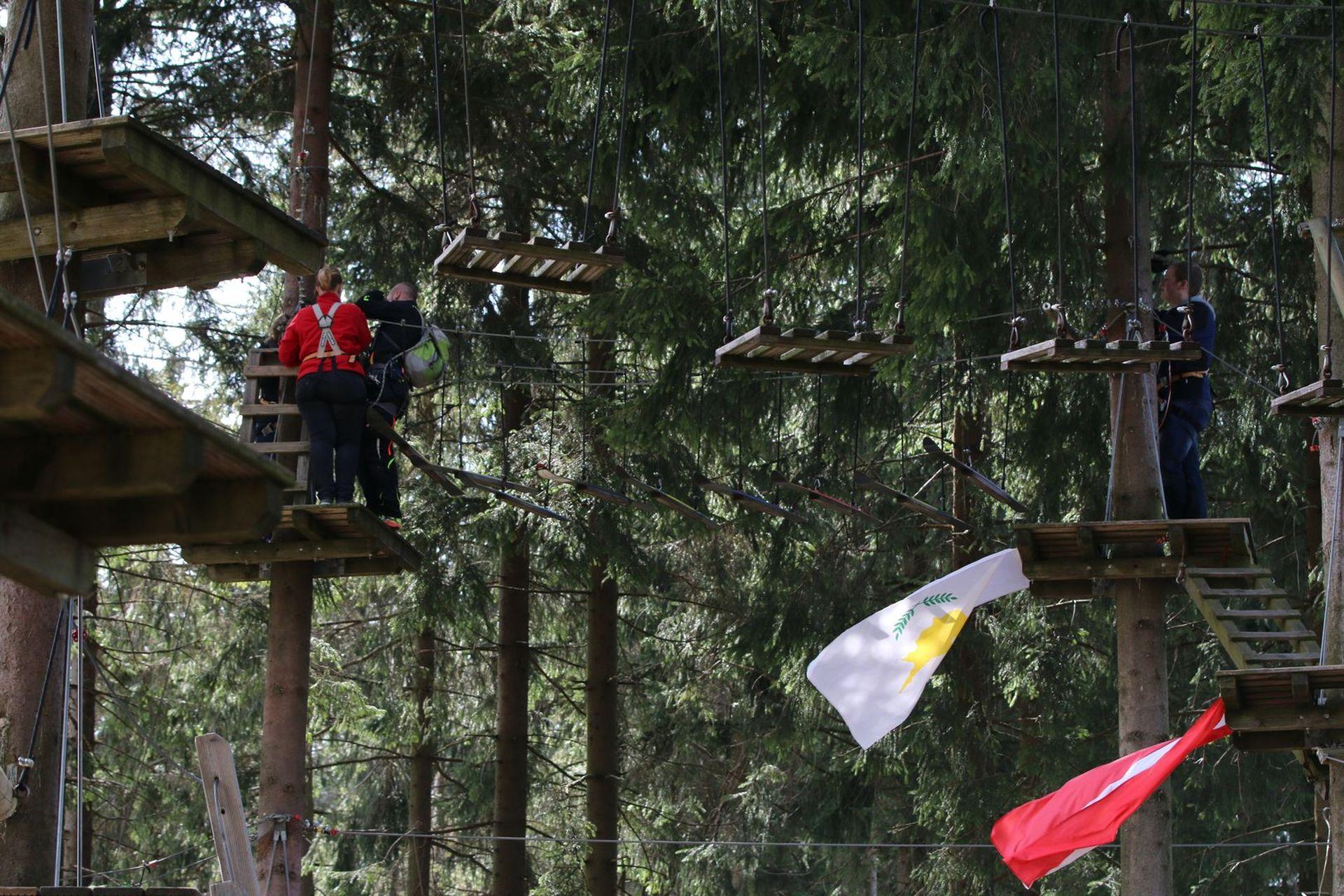Freizeittipp Familie Kletterwald Winterberg am Erlebnisberg Kappe (3)