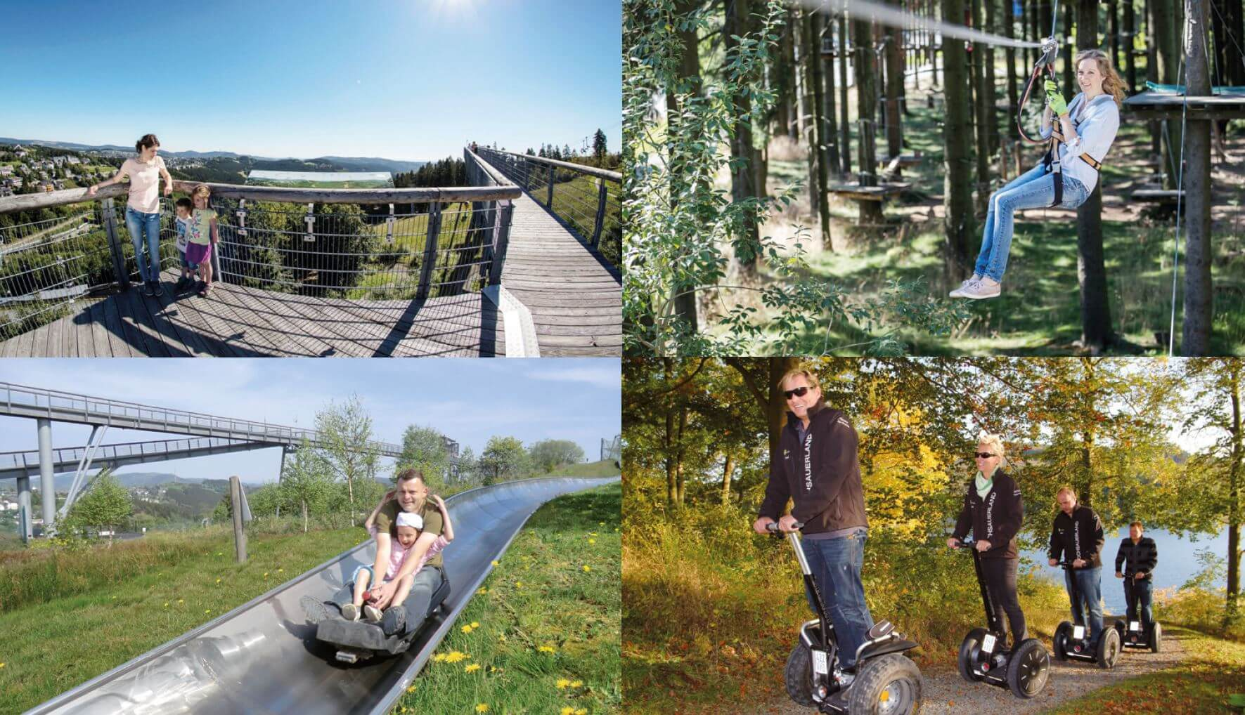 Freizeitmöglichkeiten am Erlebnisberg Kappe Winterberg