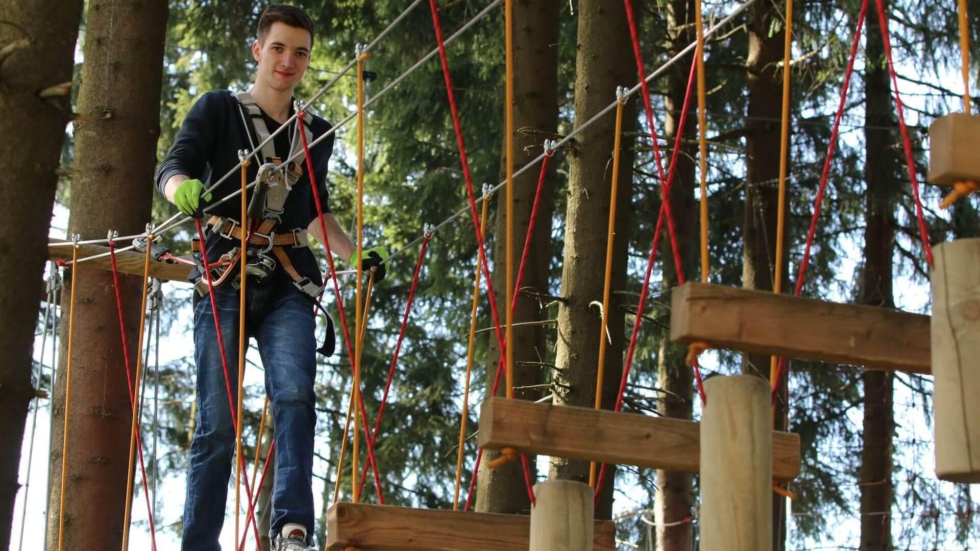 Kletterwald am 13.07.2017 bis 12:30 Uhr ausgebucht