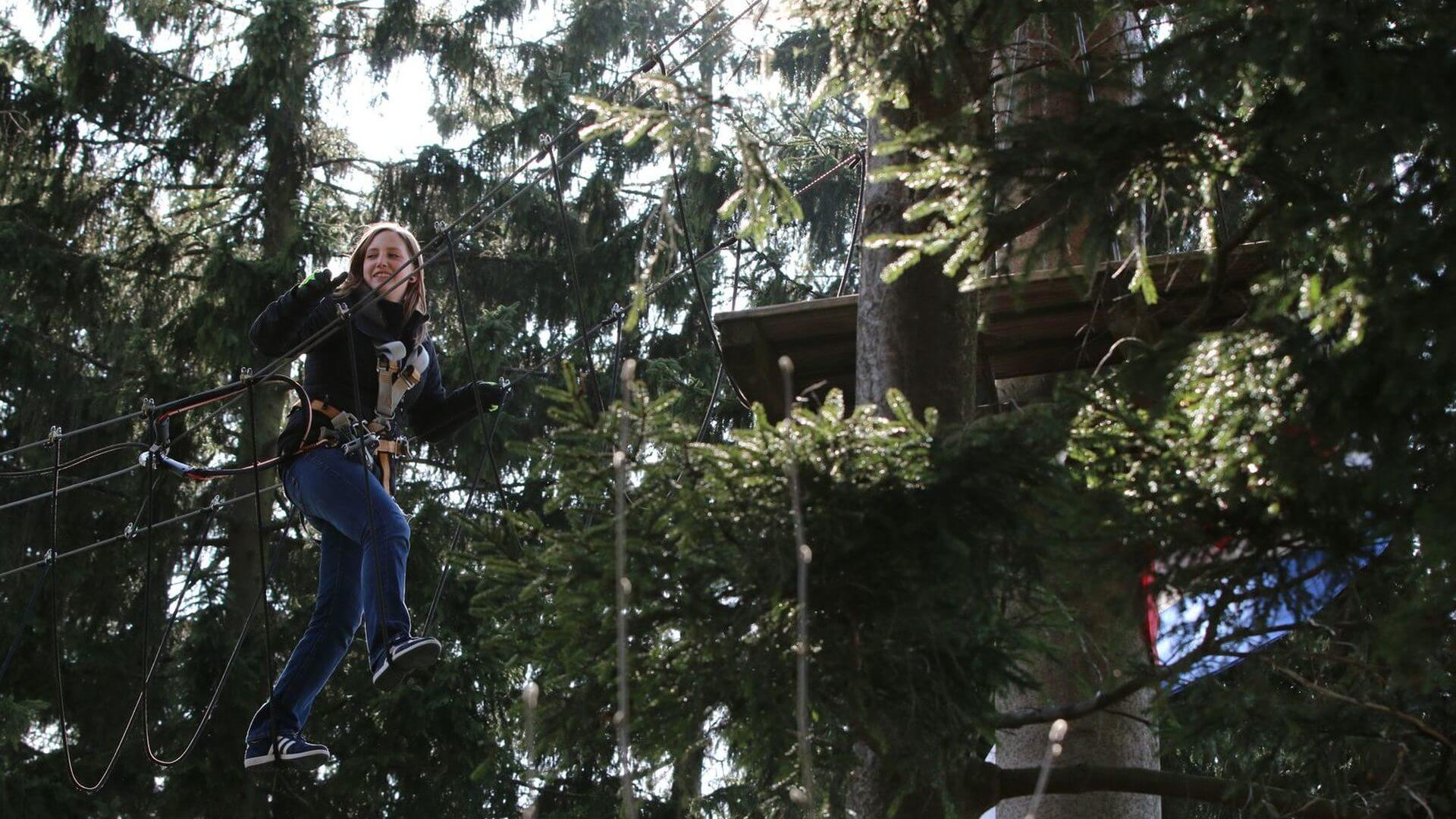 Freizeittipp Familie Kletterwald Winterberg am Erlebnisberg Kappe (6)