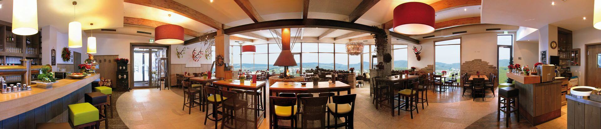 Betriebsferien im Panorama Café - Restaurant